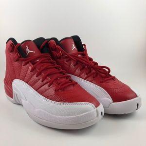 size 40 712be 5f038 Jordan · Jordan Retro 12 Gym red - White - Black Womens Siz